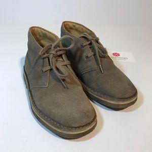 CLARK'S Originals Brown Suede Desert Boots 11 1/2W